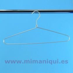 Colgador de aluminio clásico