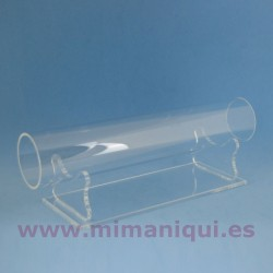 Expositor metacrilat tub