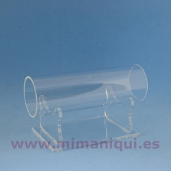 Expositor metacrilat tub