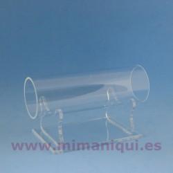 Expositor metacrilato tubo
