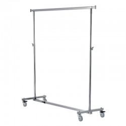 Percheiro de 150 cm para cargas pesadas, pregable, de altura regulable.