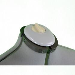 Maniquí de costura ajustable.