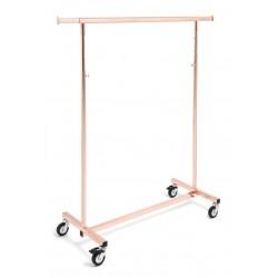 Perchero serie Ottonato oro rosa de 100 cm.