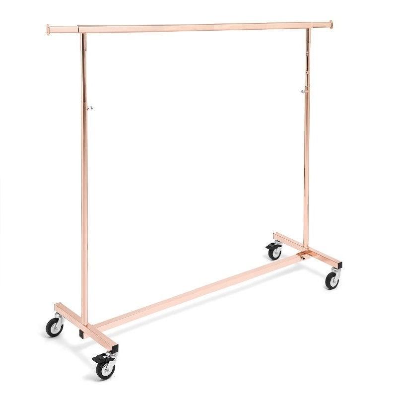 Perchero serie Ottonato oro rosa de 140 cm.