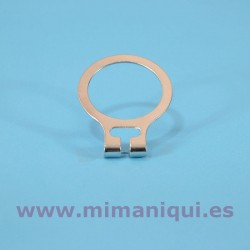 Anella metàl·lica per perxa antirobatori.
