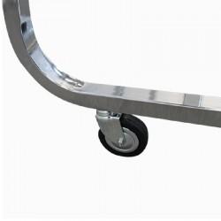 Cabide série Inverso de 134 cm.