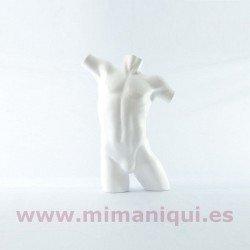 Poliestireno torso masculino