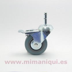Roda de colgador con freo
