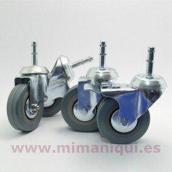 Pack de ruedas para perchero